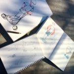 Zeichnen im Kelle-Skatepark Hamburg am 07.06.2019 -04