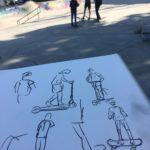 Zeichnen im Kelle-Skatepark Hamburg am 07.06.2019 -05