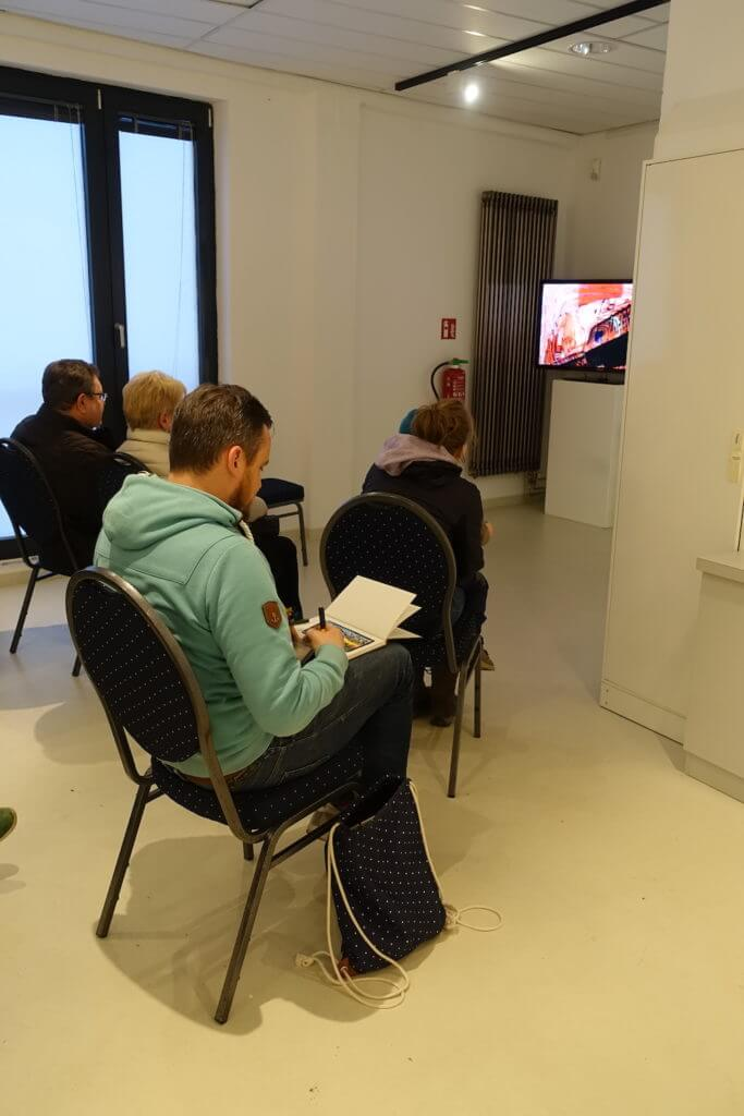 Hundertwasser-Ausstellung-Fabrik-der-Künste-Malen-und-Zeichnen_4